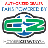 Fans Powered by Motores Czerweny SA